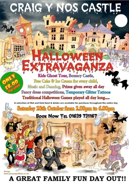 Childrens Halloween Event on Saturday 28th October 2017 2-6pm