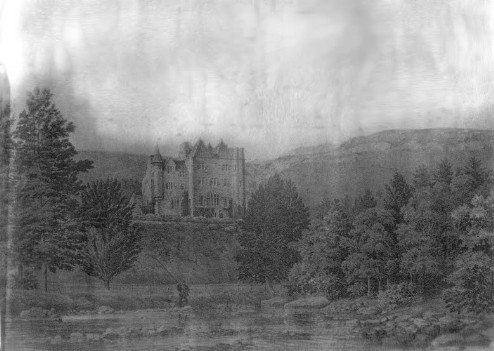 most haunted house in Wales Craig y Nos Castle spooky misty scenery
