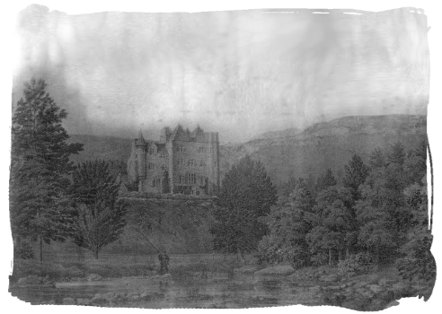 Most Haunted Castle Craig y Nos Castle old photo from 1900's