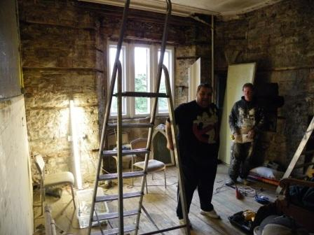 Haunted Bar Craig y Nos Castle Ghost Tours - Construction Day One