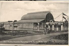 The former winter gardens at Craig y Nos, Wales, now the Patti Pavilion in Swansea
